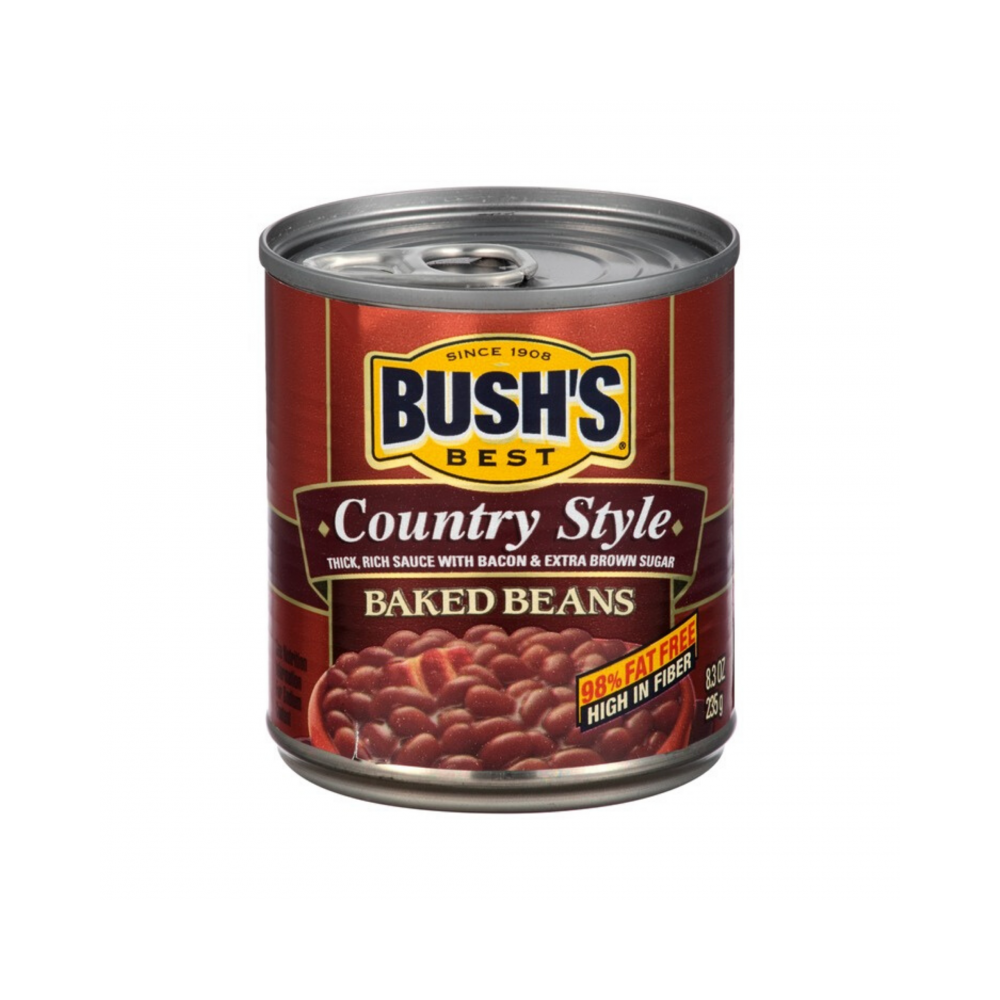 Bush's baked beans country style 8.3 oz