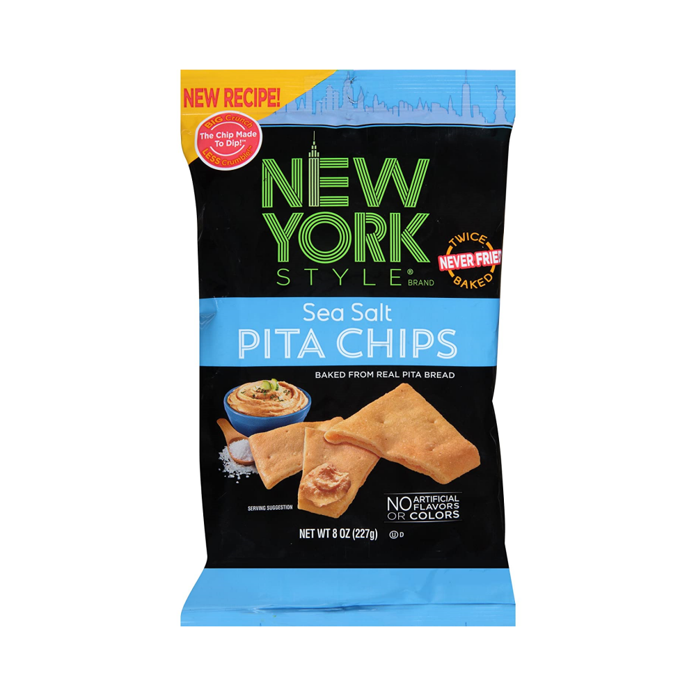 New York Style Sea Salt Pita Chips