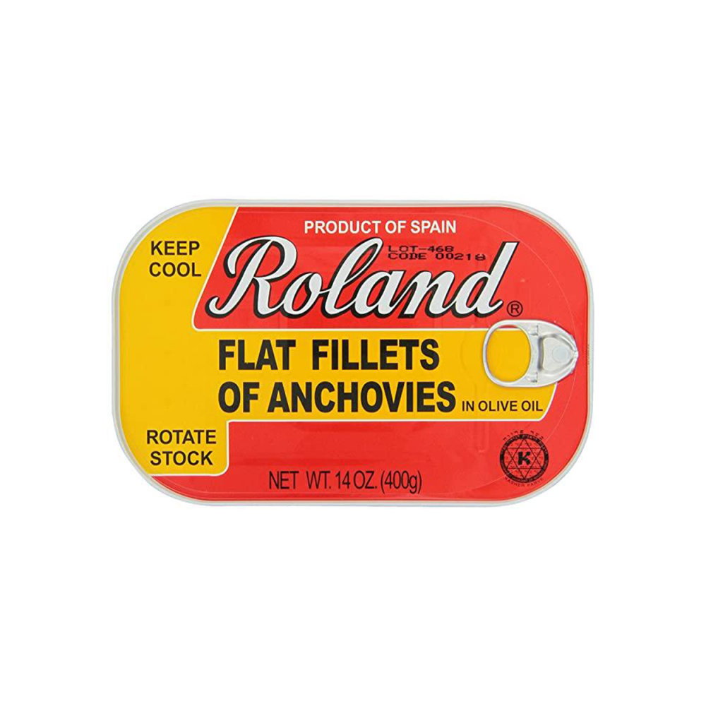 Roland Fillets of Anchovies 14oz
